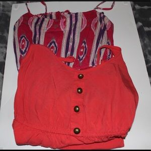 LOT of 2 summer dresses